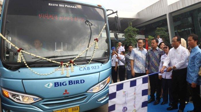 Cukup Bayar Rp 50 Ribu, Bus Ini Antar Penumpang dari Bandara Soetta ke Sejumlah Mal dan Hotel