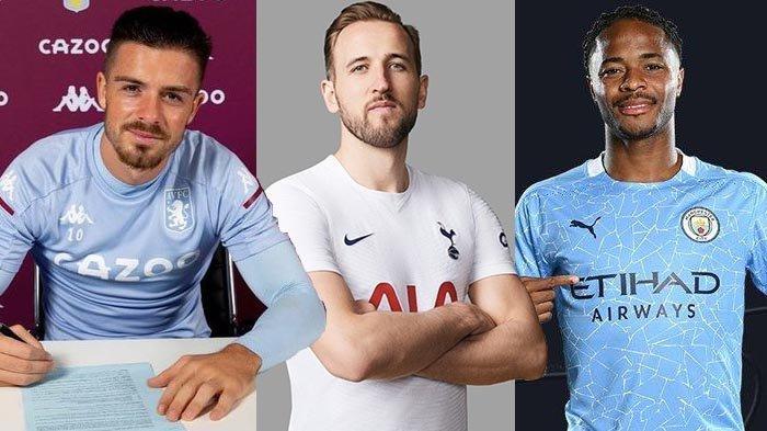 Transfer Manchester City - Transfer Jack Grealish ke City £100 Juta, Rencana Harry Kane & Sterling