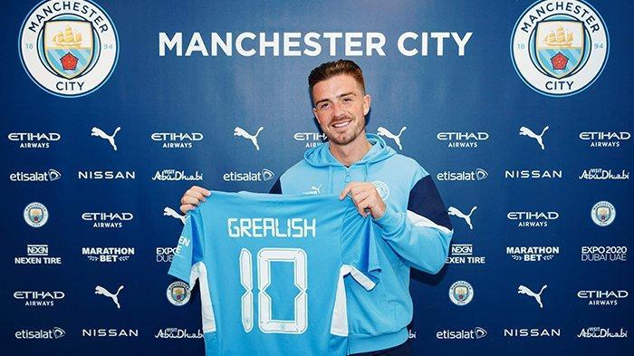 Transfer Manchester City - Resmi! Jack Grealish Bergaji Rp5,9 M/Pekan di City, Harry Kane Nyusul?