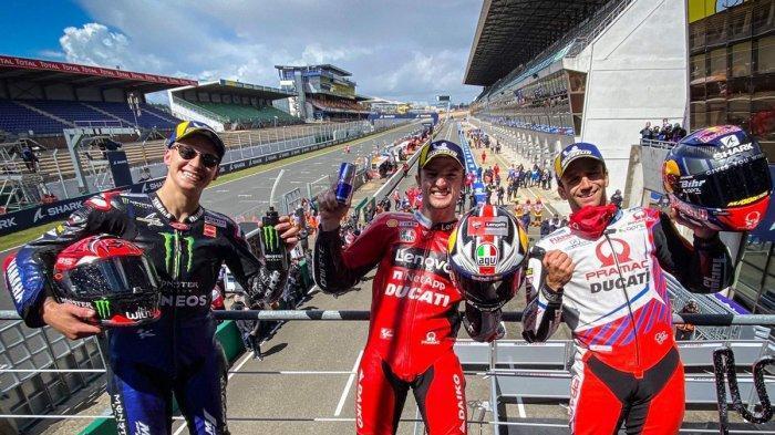 Hasil MotoGP Prancis, Marc Marquez Sial, Jack Miller Juara, Valentino Rossi 11