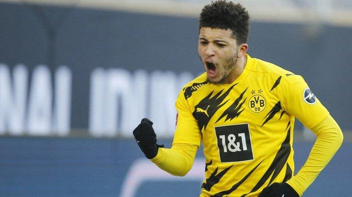 Striker Borussia Dortmund asal Inggris, Jadon Sancho dikabarkan deal untuk pindah ke Manchester United mulai musim 2021-2022.