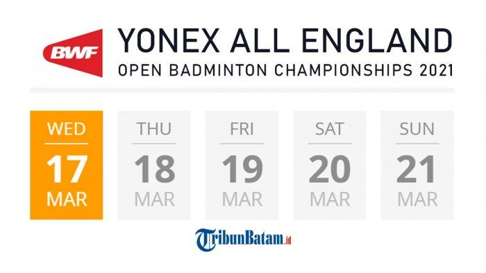 Jadwal All England 2021 Rabu (17/3), Hendra/Ahsan vs Ben Lane/Sean Vandy, Carolina Marin Mundur