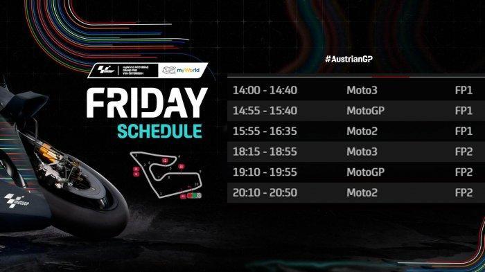 MotoGP Austria Siang Ini Free Practice 1, Valentino Rossi Punya Ambisi, Kejutan KTM Berlanjut?