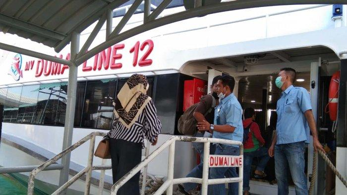 JADWAL Kapal Ferry Pelabuhan Domestik Sekupang Hari Ini Selasa 2 Maret 2021. Foto aktivitas di Pelabuhan Domestik Sekupang, Selasa (2/3/2021).