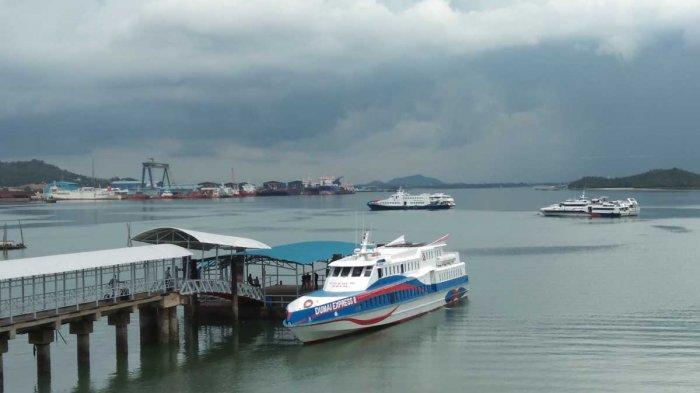 Pelabuhan Domestik Sekupang - Kondisi Pelabuhan Domestik Sekupang, Kota Batam, Kepri. Foto diambil 5 Mei 2021.