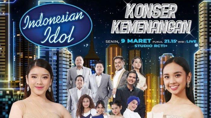 Jadwal Konser Kemenangan Indonesian Idol 2020, Senin (9/3), Tiara dan Dul Jaelani Bertemu Kembali