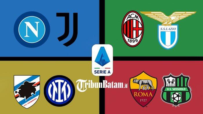 Jadwal Liga Italia Pekan 4 Sabtu: Napoli vs Juventus, Minggu: Sampdoria vs Inter, AC Milan vs Lazio