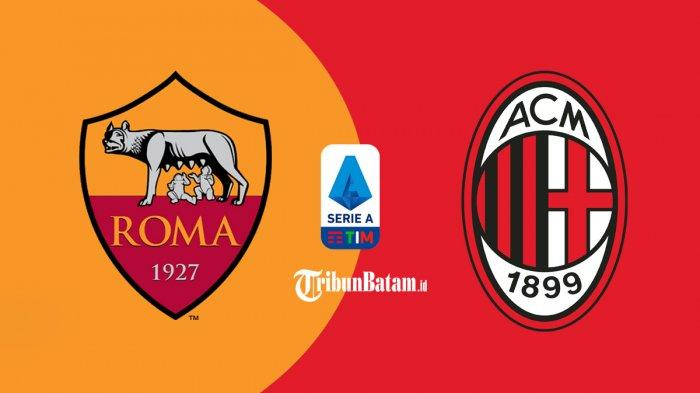 AS Roma vs AC Milan Live RCTI 02.45 WIB, Stefano Pioli: Ini Duel Tiket Liga Champions!