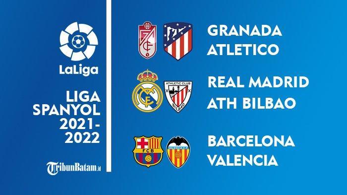 Jadwal Liga Spanyol Pekan 9: Real Madrid vs Athletic Bilbao, Barcelona vs Valencia