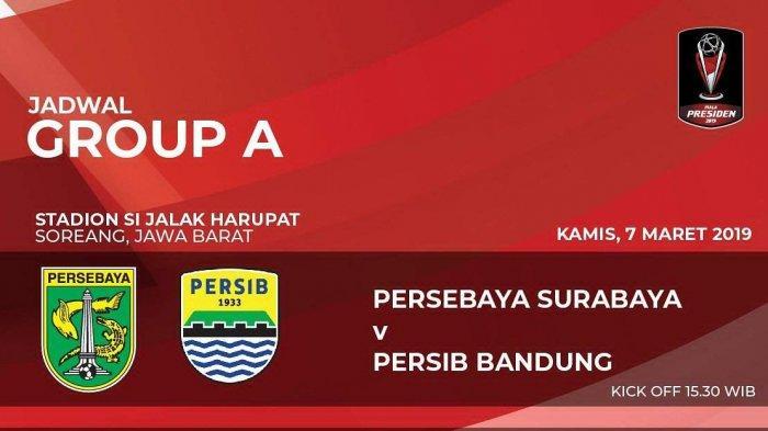 SEDANG BERLANGSUNG Live Streaming Persebaya vs Persib Bandung di Indosiar, Duel Formasi 4-3-3