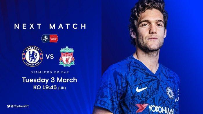 Jadwal Piala FA (FA Cup) Malam Ini Chelsea vs Liverpool, Live beIN Sport, Klopp Mainkan Skuad Utama