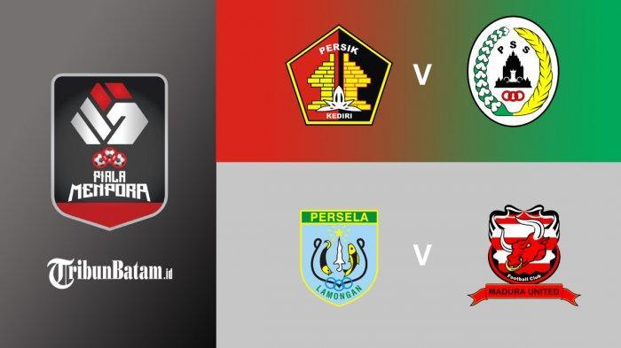 Jadwal Piala Menpora 2021, 15.15 WIB: Persik vs PS Sleman, 18.15 WIB Persela vs Madura United