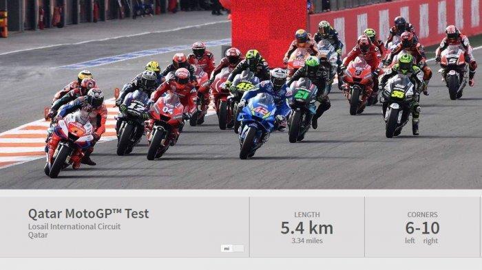 MotoGP 2020 - Jadwal Test MotoGP di Jerez Spanyol, Hari Ini Moto2 & Moto3, MotoGP Sabtu (22/2)
