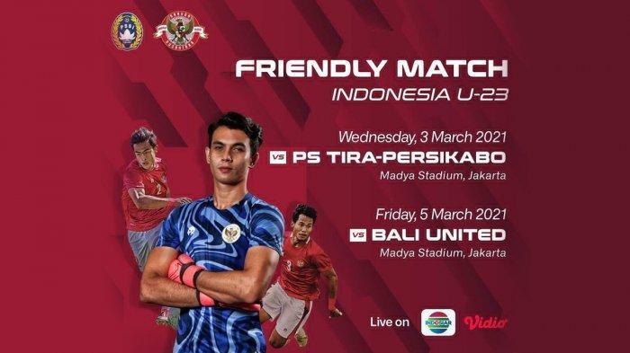 Resmi, Laga Uji Coba Timnas U-22 Indonesia vs Bali United Juga Dibatalkan