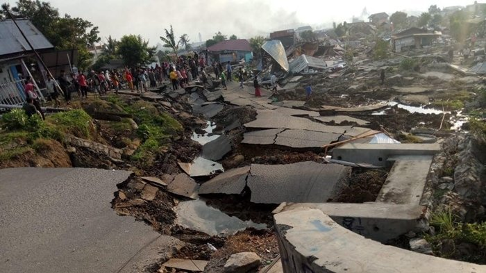 Cerita Saksi Mata Melihat Dahsyatnya Gempa Palu, Anak Terlepas dari Ibunya Setelah 'Tertelan' Lumpur