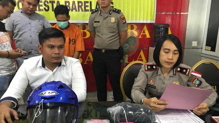 Detik-Detik Jambret Sadis Ditangkap, Keluar Penjara Langsung Beraksi di 24 TKP di Batam