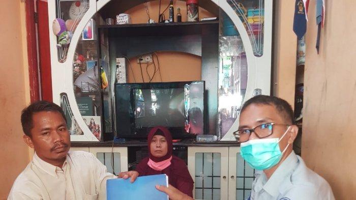Jasa Raharja Santuni Korban Kecelakaan di Batam