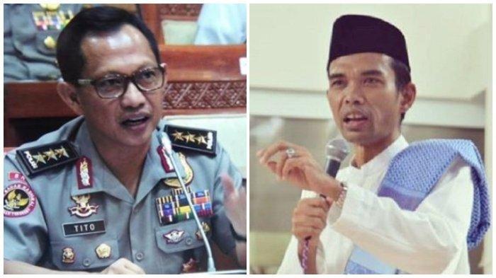 Jawaban Ustaz Abdul Somad saat Ditanya Kapolri Cara Menghindari Perpecahan di Indonesia