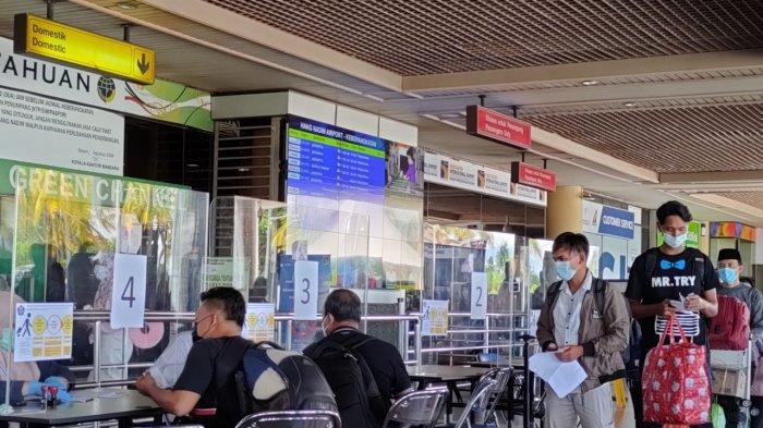 Kondisi Bandara Hang Nadim Batam, Provinsi Kepri, Senin (3/5/2021).