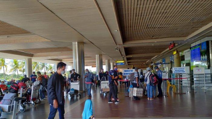 Jelang Larangan Mudik, Belasan Ribu Warga Tinggalkan Batam Lewat Bandara Hang Nadim