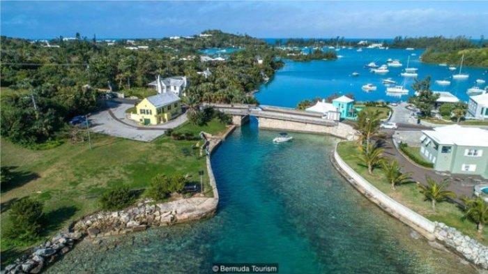 KISAH Jembatan Somerset di Pulau Bermuda: Termini di Dunia, Hanya Sekali Bersin Sudah Sampai