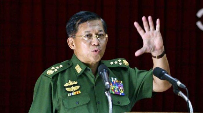 Negaranya Sedang Kacau, Pemimpin Junta Militer Myanmar Malah ke Jakarta Pekan Depan