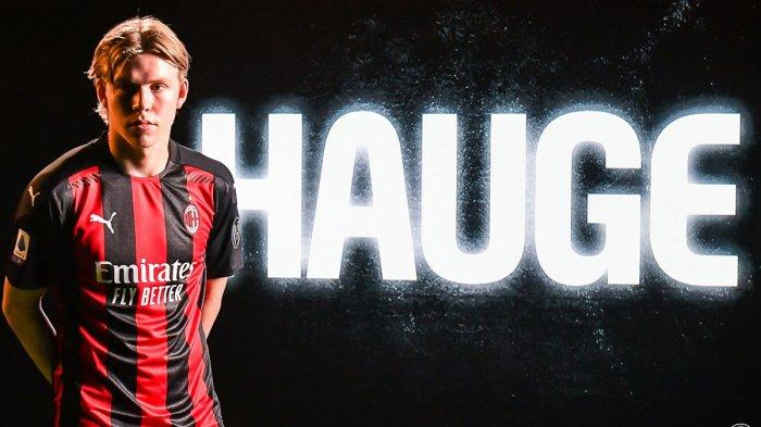 PEMAIN AC MILAN - Jens Petter Hauge pemain baru AC Milan asal Norwegia