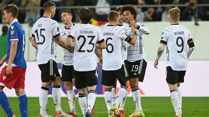 Hasil Liechtenstein vs Jerman, Timo Werner & Leroy Sane Cetak Gol, Jerman Menang