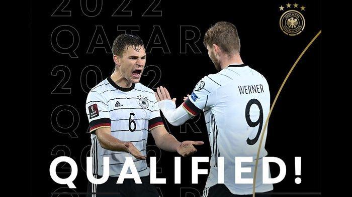 Hasil, Klasemen, Top Skor Kualifikasi Piala Dunia 2022 Setelah Jerman Menang, Belanda Menang
