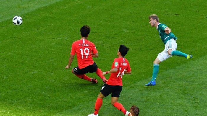 Skor Jerman vs Korea dan Meksiko vs Swedia Masih Kaca Mata di Babak Pertama