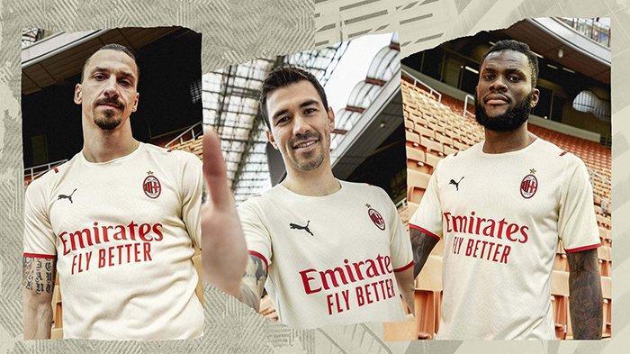 UPDATE Jersey Klub Liga Italia 2021-2022, AC Milan Kenalkan Jersey Tandang, Atalanta Jersey Home