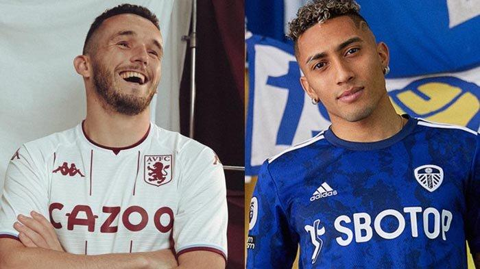 UPDATE Jersey Klub Liga Inggris 2021-2022, Jersey Away Leeds United, Newcastle, Aston Villa