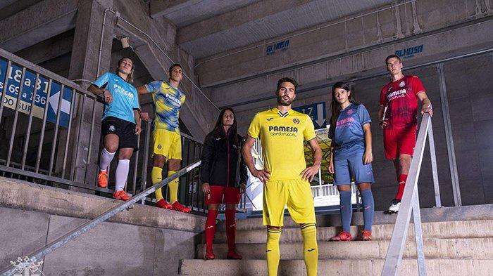 UPDATE Jersey Klub Liga Spanyol 2021-2022, Villarreal dan Sevilla Luncurkan Jersey Kandang