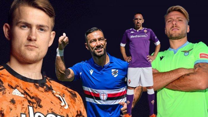 Update Jersey Klub Liga Italia 2020 2021 Jersey Ketiga Juventus Bocor Resmi Jersey Tandang Lazio Halaman All Tribun Batam