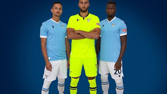 UPDATE Jersey Klub Liga Italia 2021-2022, Lazio Kenalkan Jersey Kandang dan Ketiga