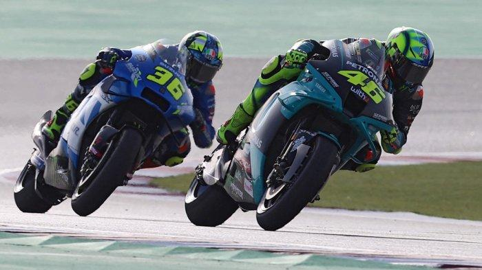 Jadwal MotoGP Doha 2021 FP1 Jumat 2 April, Pelampiasan Kekecewaan Joan Mir: Pekan Depan Podium!