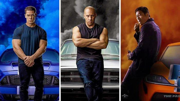 Poster film Fast and Furious 9.