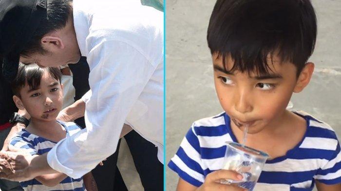 Sempat Ingin Ikut Presiden Jokowi, Ini Sosok Bocah Korban Gempa Palu. Ibunya Meninggal saat Gempa