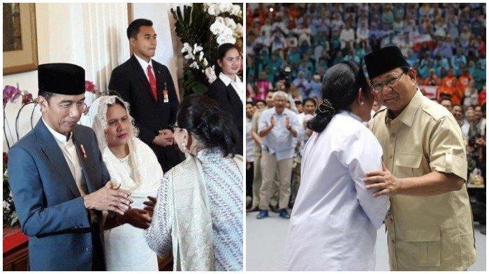 Silaturahmi Idul Fitri 2019, Jokowi Sambangi Kediaman Megawati, Prabowo Pilih ke Keluarga Cendana