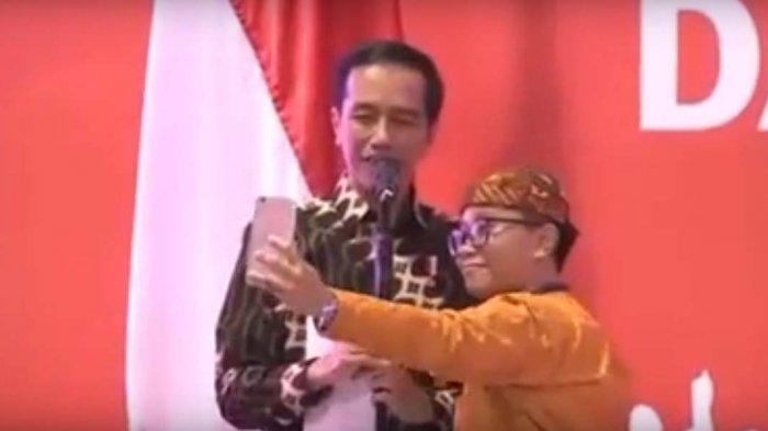NGAKAK! Wanita Ini Titip Salam pada Kaesang Lewat Jokowi. Ngaku Sama-sama Kolektor Kecebong