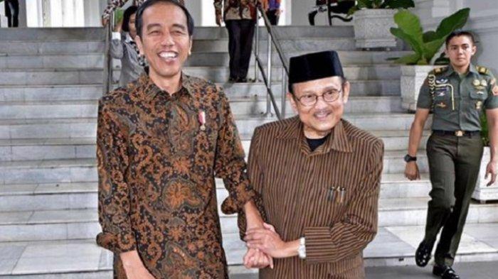 Habibie Ucapkan Selamat kepada Jokowi secara Langsung, Sampaikan Pesan Damai usai Pilpres