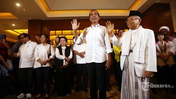 Jelang Pelantikan Presiden dan Wakil Presiden,Jokowi Kunjungi Gedung DPR/MPR RI