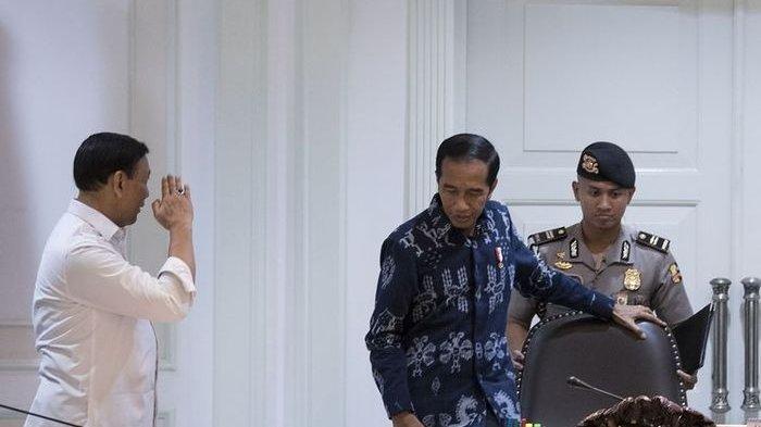 Hadapi Kemungkinan Terburuk Politik Indonesia Pasca 22 Mei, Jokowi Panggil 2 Mantan Petinggi TNI