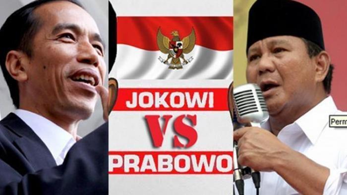 Hasil Real Count KPU Pilpres 2019 Senin (29/4) Pukul 02.30 WIB, Ini Perolehan SuaraJokowi & Prabowo