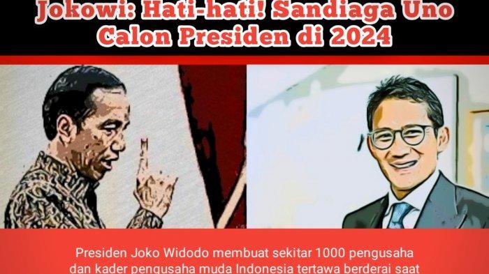 Kode-kodean Jokowi dan Sandiaga Uno di Pilpres 2024, Rocky Gerung Beber Peluang Anies Baswedan