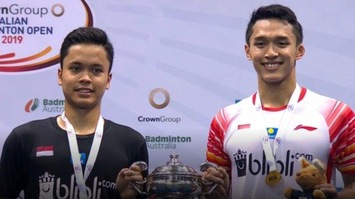 Daftar Pemain Bulutangkis Indonesia yang Lolos ke Olimpiade, Tunggal Putra dan Ganda Putra 2 Wakil