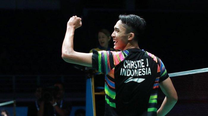 Hasil Australian Open 2019 - Tekuk Lin Dan, Jonatan Christie Susul Anthony Ginting ke Semifinal