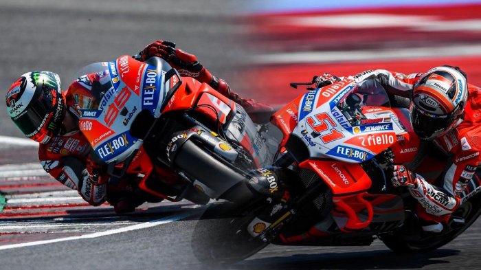 MotoGP Misano - Hasil Latihan Bebas MotoGP 2018, Andrea Dovizioso Kembali Menjadi Tercepat