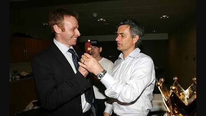 Jose Mourinho bersama Simon Greenberg saat sama-sama di Chelsea