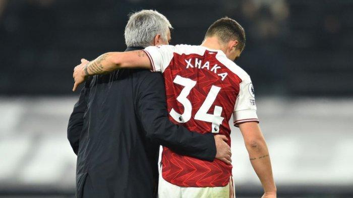 Transfer AS Roma, Diminta Jose Mourinho, Granit Xhaka Pindah ke AS Roma Akhir Pekan Ini?